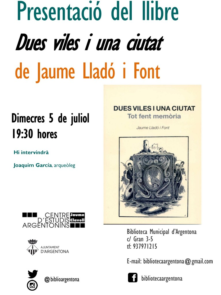 Cartell Dues viles